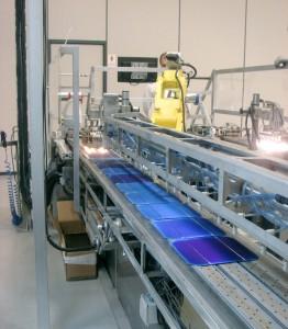 fabricación de placas solares