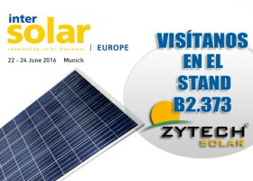Visit us at Intersolar Europe 2016 (MUNICH)