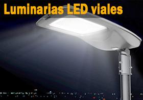 luminaria LED calle