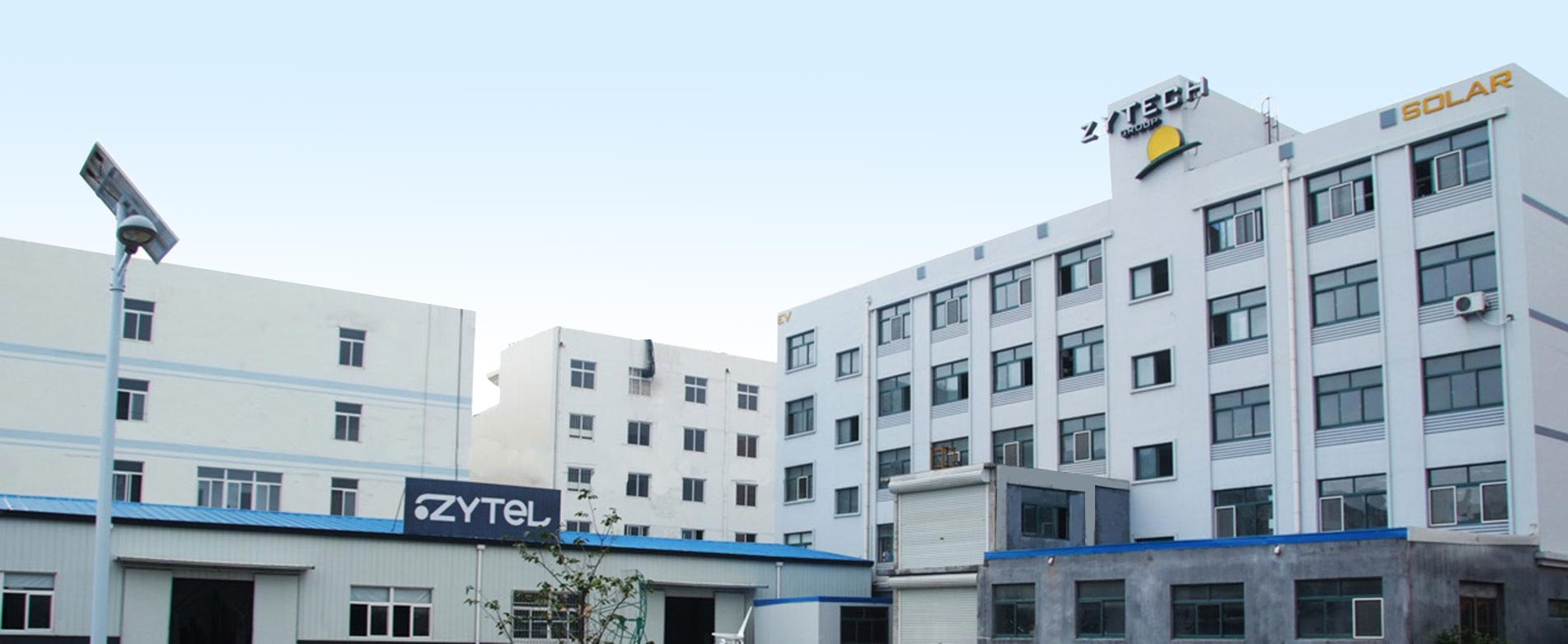 Fabrica en China de Zytech Solar y Zytel