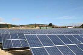 parque fotovoltaico de 1MW realizado con módulos de Zytech Solar